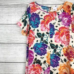 ASOS Floral Trapeze Dress Size 16
